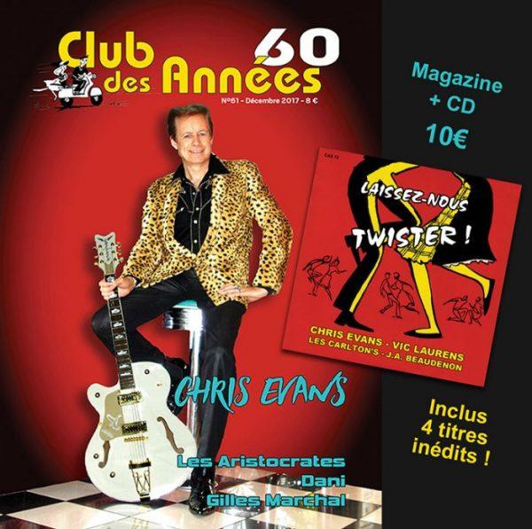 Club des années 60 + CD